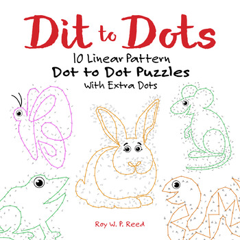 Repeating Patterns, 10 Dot to Dot Animal Puzzles that Explore Linear Patterns