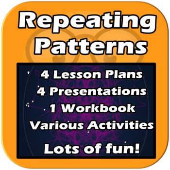 Repeating Patterns - 4 Lessons. Computer Science. Elementary - EDITABLE
