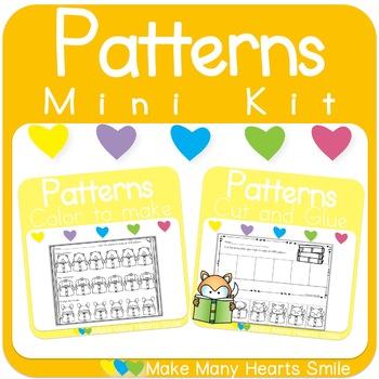 Repeating Patterns Mini Kit: Animals Reading