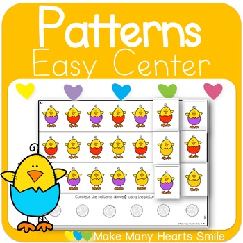 Repeating Patterns: Colorful Chicks