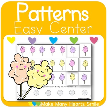 Repeating Patterns: Cotton Candy