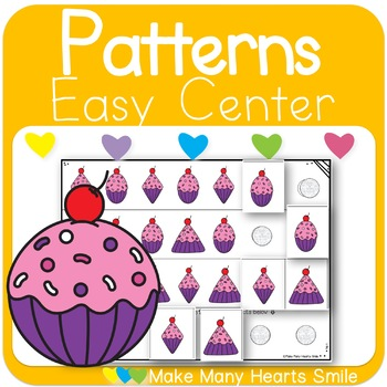 Repeating Patterns: Cupcake Shapes