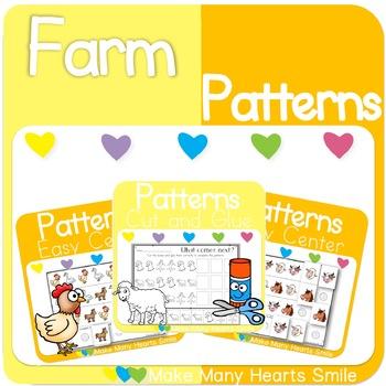 Repeating Patterns: Farm Animals