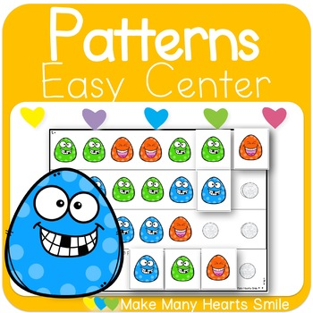 Repeating Patterns: Funny Eggs