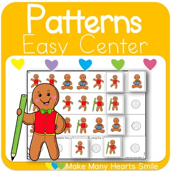 Repeating Patterns: Gingerbread Man