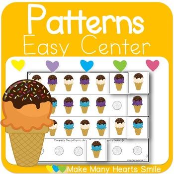 Repeating Patterns: Ice Cream