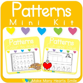 Repeating Patterns Mini Kit: Penguins