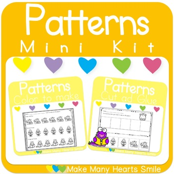 Repeating Patterns Mini Kit: Monsters