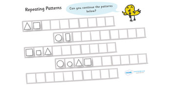 Repeating Patterns Shapes