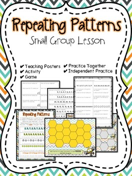 Repeating Patterns Small Group Lesson