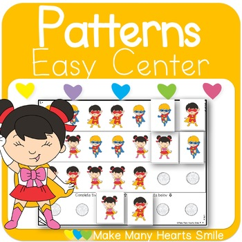 Repeating Patterns: Superheros