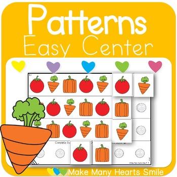 Repeating Patterns: Veggies