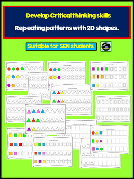 Repeating Patterns With 2D Shapes