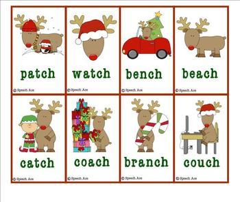 Repeating Reindeer: Christmas Articulation Games