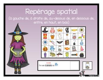 Repérage spatial (Halloween)