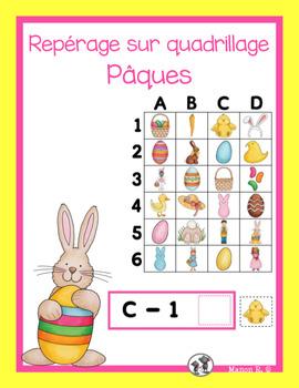Repérage sur quadrillage (Easter)