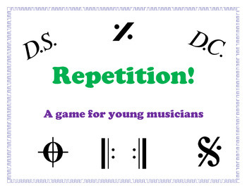 Repetition! - A game for young musicians