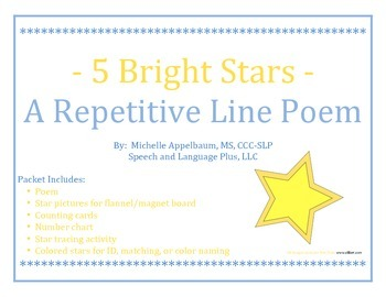 Star Repetitive Line Poem