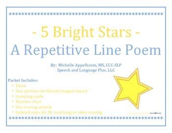Star Repetitive Line Poem