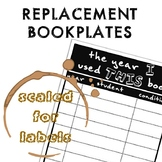 Replacement Book Plates