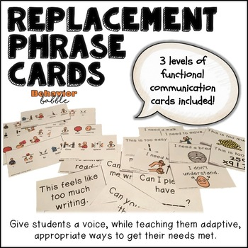 Replacement Phrase Cards