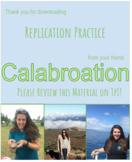 Replication Practice