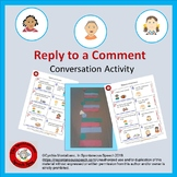 Reply to a Comment, Conversation Task Cards