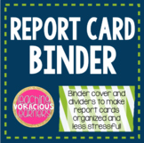 Report Card Binder