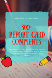 Report Card Comments-- 300+ EDITABLE comments