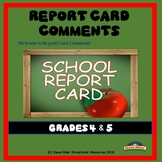 Report Card Comments (80 Ready-Made Comments)