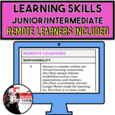 Report Card Comments - ALL Learning Skills - Jun/Int - Term 1 and 2