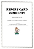 Report Card Comments (Foundation - Year 6, General, Englis