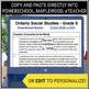 Report Card Comments - Social Studies - Grade 6
