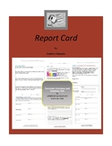 Report Card Complete Literature and Grammar Unit
