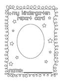 Report Card Covers {Kindergarten through Fifth Grade}
