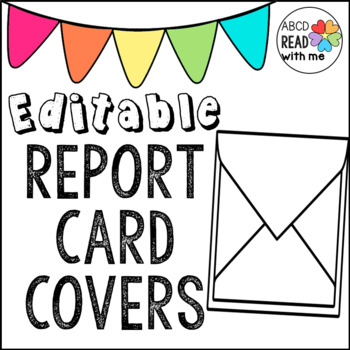 Report Card Covers for Envelope