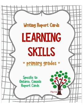 Report Card Learning Skills (Ontario)