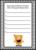 Report Card Return Sheet