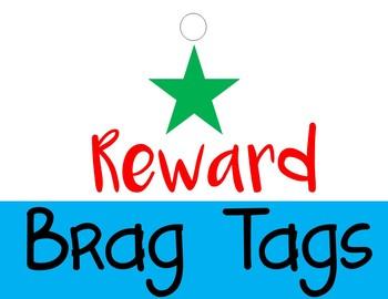 Report Card Reward Tags