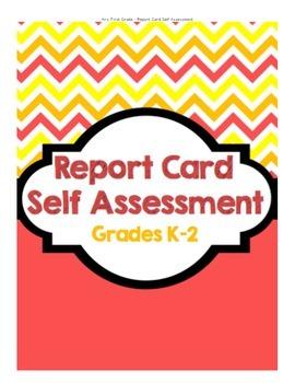 Report Card Self Assessment