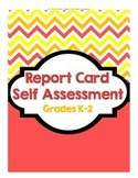 Report Card Self Assessment