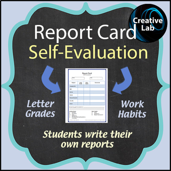 Report Card Self-Evaluation
