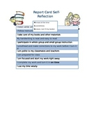 Report Card Self-Reflection