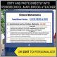 Report Card comments - Math grade 6 Assessment
