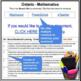 Report Card comments - Math grade 6 Assessment