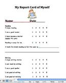 Report Card of Myself