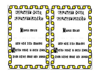 Report Card awards