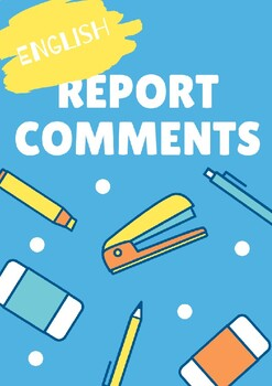 Report Comment Bank (English)