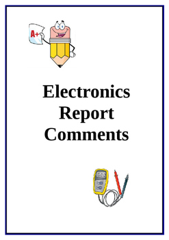 Report Comments Electronics