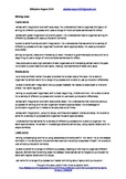 Report Card Comments Statement Bank - Writing, Male